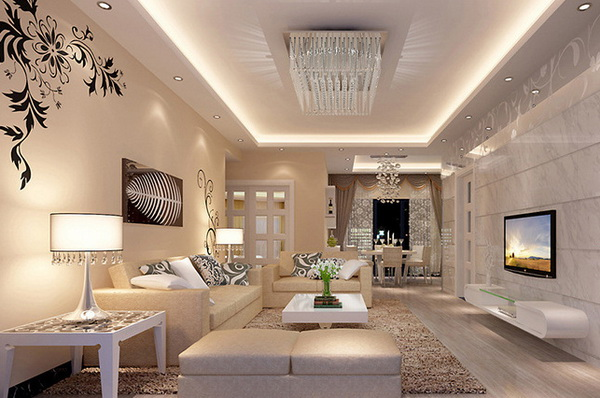 Beautiful Spots Plafond Woonkamer Pictures - House Design Ideas 2018 ...